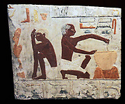 Manufacturing and baking bread in Ancient Egypt