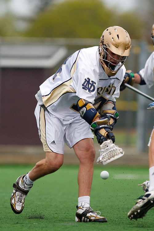 May 1, 2009:    #14 Taylor Tripucka of Notre Dame in action during the NCAA Lacrosse game between Notre Dame and Quinnipiac at GWLL Tournament in Birmingham, Michigan. (Credit Image: Rick Osentoski/Cal Sport Media)
