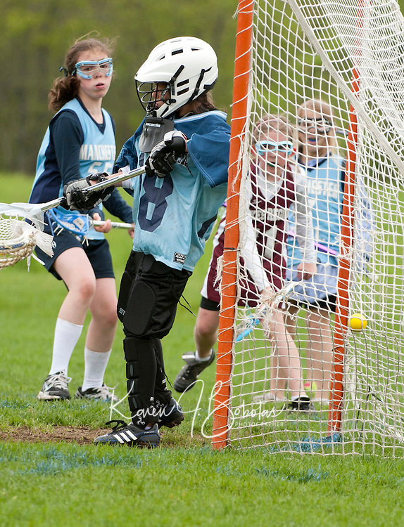 Lakes Region Lacrosse U11 girls versus Manchester  May 21, 2011.