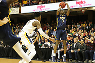 March 5, 2018 - Asheville, North Carolina - U.S. Cellular Center: ETSU guard Bo Hodges (3)<br /> <br /> Image Credit: Dakota Hamilton/ETSU