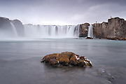 Goðafoss is located in the north-east-Iceland. <br /> www.gudmann.is