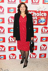 © Licensed to London News Pictures. 09/09/2013, UK.  Rebecca Front,, TV Choice Awards, The Dorchester Hotel, London UK, 09 September 2013 Photo credit : Richard Goldschmidt/Piqtured/LNP