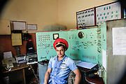 Train station control room at Haghpat, Lori Province, Armenia