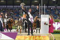 Bronze medal individual, De Ronde Koos, (NED)<br /> Marathon Driving Competition<br /> FEI European Championships - Aachen 2015<br /> © Hippo Foto - Dirk Caremans<br /> 22/08/15