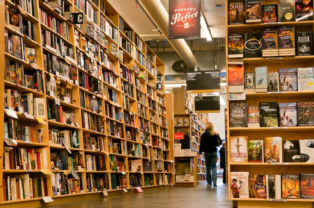 Powell's City of Books bookstore in Portland, Oregon.
