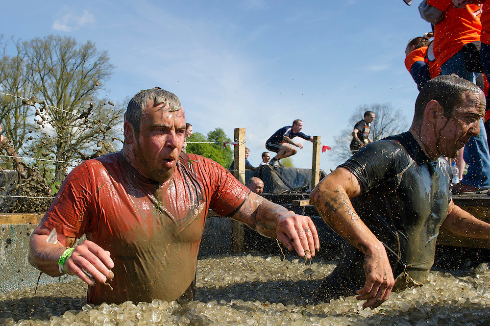 Tough Mudder - May 2012 - Northamptonshire - Ice Pool