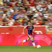 Robert Lewandowski, FC Bayern Munich, in action during the FC Bayern Munich vs Chivas Guadalajara, Audi Football Summit match at Red Bull Arena, New Jersey, USA. 31st July 2014. Photo Tim Clayton