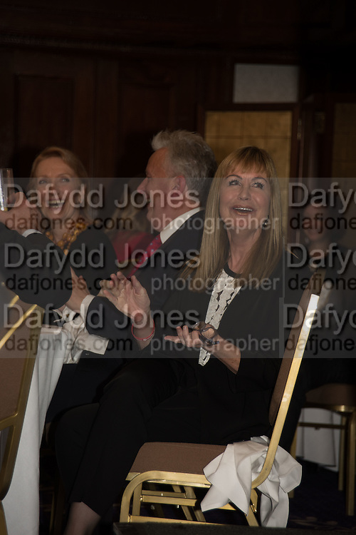 VISCOUNT WINDSOR; SIAN LLOYD;  An evening of entertainment at St James Court in support of the redevelopment of St Fagans National History Museum. In the spirit of the court of Llywelyn the Great . St. James Court Hotel. London. 17 September 2015<br />  <br /> Noson o adloniant yn St James Court i gefnogi ail-ddatblygiad Sain Ffagan Amgueddfa Werin Cymru