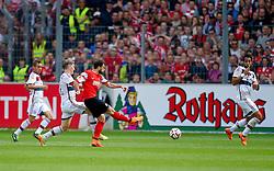Football: Germany, 1. Bundesliga, SC Freiburg - FC Bayern Muenchen, Freiburg - 16.05.2015,<br /> Admir Mehmedi (m, Freiburg) scores to 1:1<br /> <br /> &copy; pixathlon<br /> <br /> +++ NED out !!! +++