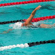 15 October 2015 - The San Diego State Aztecs Women's Swim & Dive Team took on Oregon State and Vanderbilt at the Aztec Aquaplex. 1000 yard Freestyle Lane 4