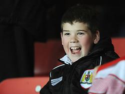 Bristol City fan - Photo mandatory by-line: Dougie Allward/JMP - Mobile: 07966 386802 - 10/02/2015 - SPORT - Football - Bristol - Ashton Gate - Bristol City v Port Vale - Sky Bet League One