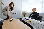 Shinichi Nishikubo, President and CEO of Skymark Airlines Inc., in Tokyo, Japan, on Friday 26th February 2011.