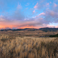 Studhorse mountain sky panoramic