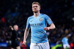 Kevin De Bruyne of Manchester City cuts a frustrated figure - Mandatory by-line: Robbie Stephenson/JMP - 18/12/2018 - FOOTBALL - King Power Stadium - Leicester, England - Leicester City v Manchester City - Carabao Cup Quarter Finals