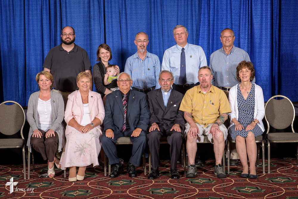 SELC District group photograph at the 66th Regular Convention of The Lutheran Church–Missouri Synod on Saturday, July 9, 2016, at the Wisconsin Center in Milwaukee. LCMS/Erik M. Lunsford