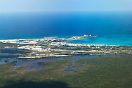 Sandals Resort on at Emerald Bay, Great Exuma Island, The Bahamas and Caribbean Sea.