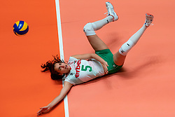29-05-2019 NED: Volleyball Nations League Netherlands - Bulgaria, Apeldoorn<br /> Simona Dimitrova #5 of Bulgaria