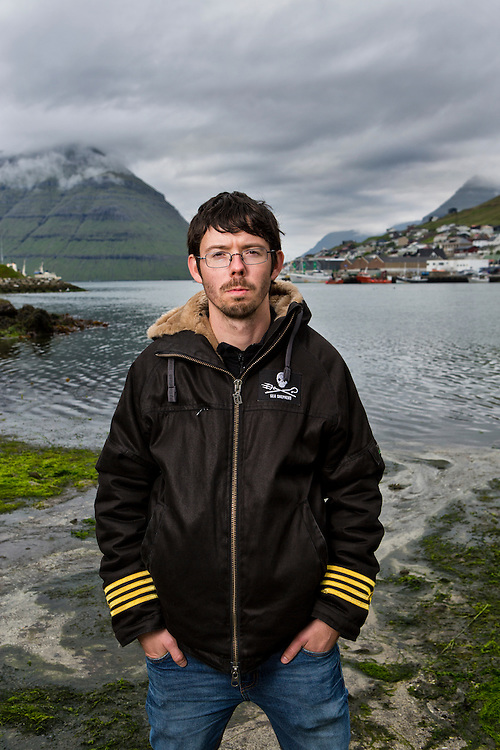 Sweden's 29 year old Peter Hammarstedt, captain of Sea Shepherd's MY Bob Barker, travels around the world to fight for the marine animals, also referred to as the organizations &ldquo;clients&rdquo;. Peter is one of the leaders of the Sea Shepherd's Faroe Islands campaign of &quot;Grindstop 2014.&quot;  Operation Grindstop is Sea Shepherd's largest effort to date to stop the traditional Pilot Whale slaughter in the Faroe Islands.<br /> <br /> Peter stands on the killing beach in Klaksvik (the second largest town in the Faroe Islands, on the island of Bor&eth;oy) where he witnessed 236 pilot whales slaughtered.  With the event still fresh in his mind Peter's interest is in preventing anything like that from ever happening again. Since it's last presence in the Faroe Islands in 2011 Sea Shepherd larger in numbers and this summer 500 volunteers from all over the world have joined the operation in the Faroe Islands with one equal goal: To stop the killing.<br /> <br /> The Sea Shepard campaign, referred to as Operation GrindStop 2014, holds no authority, but volunteers nonetheless are prepared to go to jail to protect these marine animals.