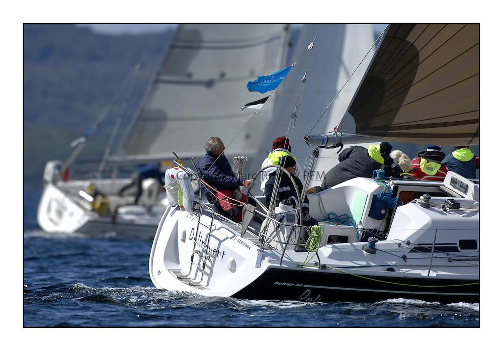 Brewin Dolphin Scottish Series 2011, Tarbert Loch Fyne - Yachting..GBR8569T, Delinquent, Alan Moore, CCC, Dehler 34.