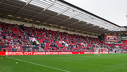 South Stand at Ashton Gate filling up ahead of Bristol City v Nottingham Forest - Mandatory by-line: Paul Knight/JMP - 01/10/2016 - FOOTBALL - Ashton Gate Stadium - Bristol, England - Bristol City v Nottingham Forest - Sky Bet Championship