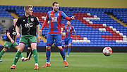 Jordon Mutch controls the play during the Final Third Development League match between U21 Crystal Palace and U21 Bristol City at Selhurst Park, London, England on 3 November 2015. Photo by Michael Hulf.
