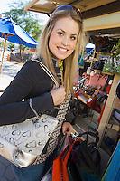 Young Woman Purse Shopping