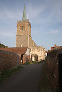 Parish church of Saint James, Nayland village, Essex, England