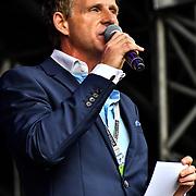 Presenter at Kew the Music 2019 on 13 July 2019, London, UK.
