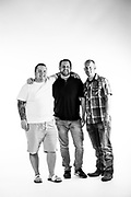 5-20 Group Shot<br /> <br /> Alex Horton<br /> Kyle Andrew Lund<br /> Bryan Winton<br /> <br /> Photo by Stacy Pearsall