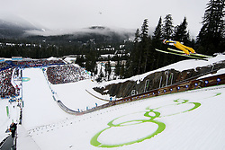 Olympic Winter Games Vancouver 2010 - Olympische Winter Spiele Vancouver 2010, Ski Jumping, Skispringen,  feature, symbolic shot,  *Photo by Malte Christians / HOCH ZWEI / SPORTIDA.com.