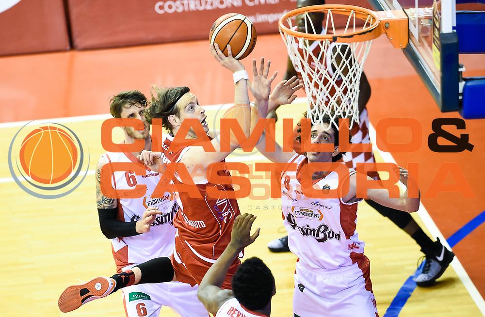 30 Aprile 2017 Reggio Emilia<br /> <br /> Campionato Basket Serie A 2016 2017<br /> <br /> Grissin Bon Pallacanestro Reggio Emilia The Flexx Pistoia Basket<br /> <br /> Nella Foto:  Michele Antonutti<br /> <br /> Foto: A.Giberti/Ciamillo