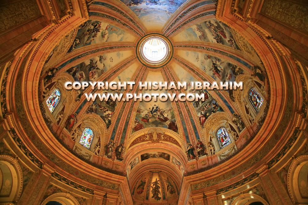 Basilica de San Francisco el Grande, Interior, Madrid, spain