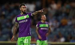 "Bristol City's Marlon Pack during the Sky Bet Championship match at Loftus Road, London. PRESS ASSOCIATION Photo. Picture date: Tuesday August 21, 2018. See PA story SOCCER QPR. Photo credit should read: John Walton/PA Wire. RESTRICTIONS: EDITORIAL USE ONLY No use with unauthorised audio, video, data, fixture lists, club/league logos or ""live"" services. Online in-match use limited to 120 images, no video emulation. No use in betting, games or single club/league/player publications."