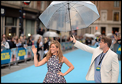 Jennifer Aniston arrives for the We're The Millers - European Film Premiere. Odeon, London, United Kingdom. Wednesday, 14th August 2013. Picture by Andrew Parsons / i-Images