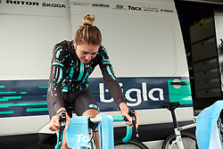 Martina Alzini (ITA) warms up for Boels Ladies Tour 2019 - Prologue, a 3.8 km individual time trial at Tom Dumoulin Bike Park, Sittard - Geleen, Netherlands on September 3, 2019. Photo by Sean Robinson/velofocus.com