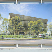 Smithsonian National Museum of African American History and Culture Construction Artist Rendering. Artist Rendering of the Smithsonian National Museum of African American History and Culture, which is being constructed on the National Mall at the corner of Constitution Avenue and 15th Street NW.