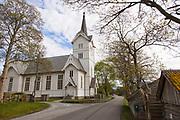 Stangvik kirke (Stangvik kyrkje) er en langkirke fra 1896 i Surnadal kommune, Møre og Romsdal fylke. Den er en del av Den norske kirke og hører til Indre Nordmøre prosti i Møre bispedømme. Byggverket er i tre og har 570 plasser. Kirken fikk orgel i 1910 og dette ble skiftet ut i 1980. Den ble pusset opp i 1969. Kirken har god akustikk og gode instrumenter, og brukes derfor som konsertlokale. Blant annet har Juleoratoriet av J. S. Bach blitt fremført. Prestegården som ble gjenoppbygget etter den store brannen i 1783 er fortsatt i bruk og er en av de eldste på Nordmøre. Prestegården fikk nytt fjøs og låve i 1922 og hovedbygningen ble restaurert i 1930. Til 1704 hørte Halsa, Surnadal, Rindal og deler av Tingvoll og Sunndal til Stangvik prestegjeld. Trondhjems reformats 1589 nevner de seks kirkene i «Stangvigs Gjeld». Sognepresten hadde da ansvar for seks kirker i ett av landets største og rikeste kall. Surnadal ble eget prestegjeld i 1704, og på Øye i Surnadal hadde kapellanen egen prestegård fra 1600. På Søyset ved Kvanne heter et sted Kyrkjevollen og lokalt sagn forteller at det en gang sto en kirke der i nærheten av gravrøysene. I Aslak Bolts jordebok fra 1432 er Stangvik, Tingvoll, Kvernes og Sunndal nevnt som faste overnattingsplasser for biskopen og var trolig de fire sentrale kirkene på Nordmøre. Hans Hyldbakk antar at Stangvik lå sentralt til den gangen fjorden var den viktigste ferdselsveien. Kirkeveien kunne være lang og det ble ofte brukt egne kirkebåter med syv par årer og plass til opptil 30 personer. Kirken og prestegarden brant ned i 1783 etter lynnedslag og sterk vind. Prestegården besto i 1704 bl.a. av flere bolighus, låve, to fjøs, tre stabbur og naust. Kirken som brant var «meget gammel», bygget av «Staver og Stolper», hadde en del «rare og store Ornamenter» og hadde tre store klokker hvorav den største veide 400 kg og var vidgjeten. Alt brant opp, også kirkebøkene, og en person omkom. Gerhard Schøning besøk