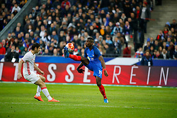 29.03.2016, Stade de France, St. Denis, FRA, Testspiel, Frankreich vs Russland, im Bild pogba paul // during the International Friendly Football Match between France and Russia at the Stade de France in St. Denis, France on 2016/03/29. EXPA Pictures © 2016, PhotoCredit: EXPA/ Pressesports/ Sebastian Boue<br /> <br /> *****ATTENTION - for AUT, SLO, CRO, SRB, BIH, MAZ, POL only*****