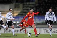 FOOTBALL - FRENCH CHAMPIONSHIP 2010/2011 - L2 - LEMANS FC v VANNES OC - 21/12/2010 - PHOTO JEAN MARIE HERVIO / DPPI - THORSTEIN HELSTAD (LMFC)