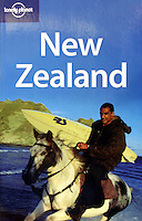 Lonely Planet New Zealand guidebook cover