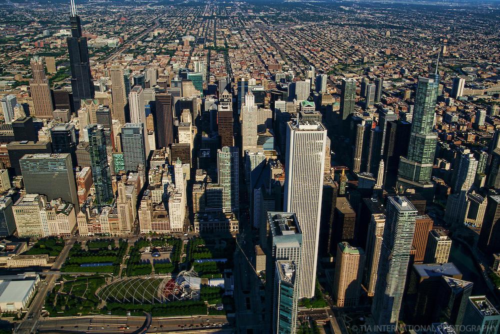 Chicago Loop featuring Millennium Park