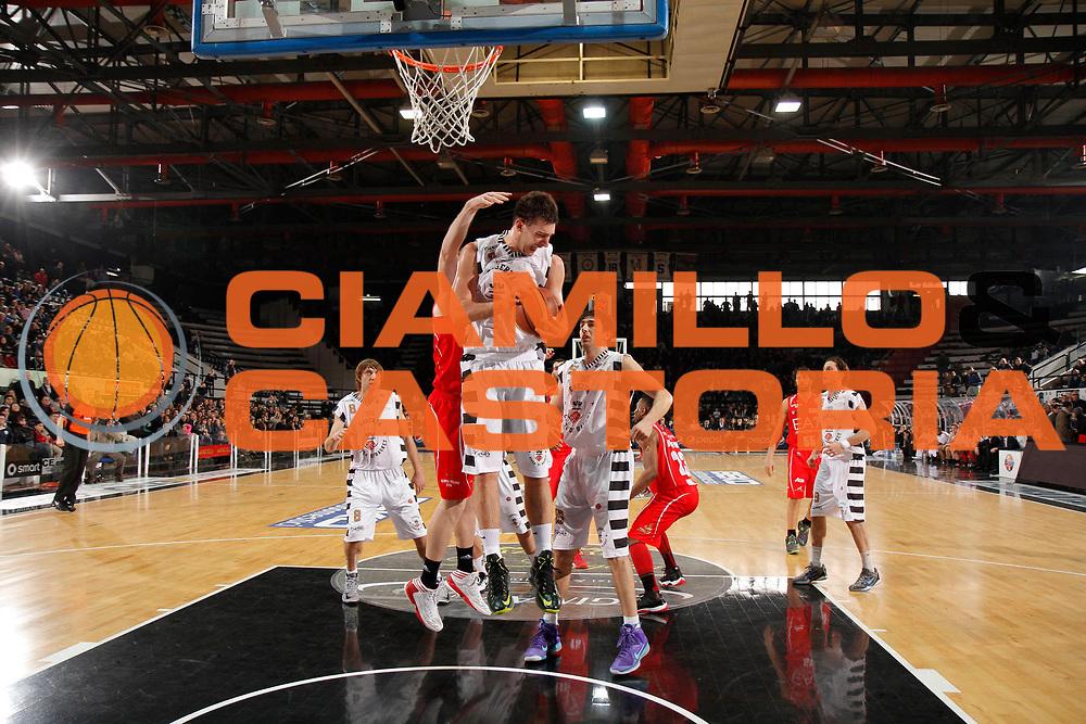 DESCRIZIONE : Caserta Lega A 2012-13 Juve Caserta EA7 Emporio Armani Milano<br /> GIOCATORE : Stevan Jelovac<br /> CATEGORIA : rimbalzo<br /> SQUADRA : Juve Caserta<br /> EVENTO : Campionato Lega A 2012-2013 <br /> GARA : Juve Caserta EA7 Emporio Armani Milano<br /> DATA : 20/01/2013<br /> SPORT : Pallacanestro <br /> AUTORE : Agenzia Ciamillo-Castoria/A. De Lise<br /> Galleria : Lega Basket A 2012-2013  <br /> Fotonotizia : Caserta Lega A 2012-13 Juve Caserta EA7 Emporio Armani Milano