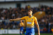 Tyler Walker (19) during the EFL Sky Bet League 2 second leg Play Off match between Mansfield Town and Newport County at the One Call Stadium, Mansfield, England on 12 May 2019.