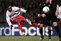 FOOTBALL - CHAMPIONS LEAGUE 2004/2005 - 1/8 FINAL - 2ND LEG - OLYMPIQUE LYONNAIS v WERDER BREMEN - 08/03/2005 - SIDNEY GOVOU (LYON) -  PHOTO GUY JEFFROY /Digitalsport<br />
