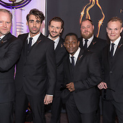NLD/Scheveningen/20180124 - Musical Award Gala 2018, Cast The Full Monty