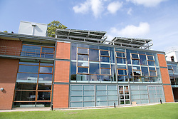Self cleaning glass windows at the Marmont Centre for Renewable Energy at Nottingham University,