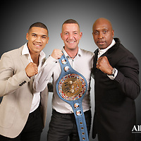 CONER AND NIGEL BENN MEET AND GREET WITH BOXING FANS IN RICHMOND HILL HOTEL ON 29/10/2016