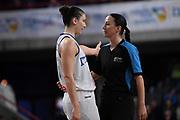 Cecilia Zandalasini, arbitro referee<br /> Italia Italy - Svezia Sweden<br /> FIBA Women's EuroBasket 2019 Qualifiers<br /> La Spezia, 21/11/2018<br /> Foto M.Ceretti / Ciamillo-Castoria