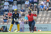 Ravi Bopara of Essex batting during the Royal London One Day Cup match between Hampshire County Cricket Club and Essex County Cricket Club at the Ageas Bowl, Southampton, United Kingdom on 23 May 2018. Picture by Dave Vokes.