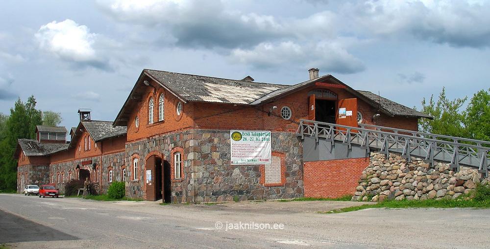 Old Building of Musta Täku Tall in Jäneda, Järva County, Estonia